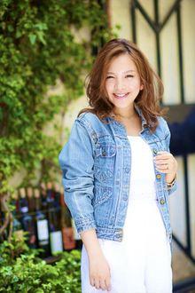 【MINX】30代 香里奈さん風 さわやか&クールなLA風ロング|MINX 銀座二丁目店のヘアスタイル
