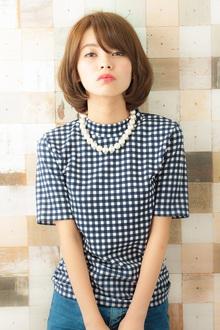 MINX発 新垣結衣風ひし形グロスボブ MINX 銀座二丁目店のヘアスタイル