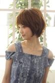 MINX発!綺麗で可愛い小顔ショートボブ|MINX 銀座二丁目店のヘアスタイル