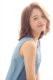 【MINX】2015年 梨花風レイヤーボブディ|MINX 銀座二丁目店のヘアスタイル