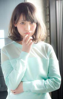 【MINX】Sweet heir☆ふんわりとした質感のセミディ☆|MINX 銀座二丁目店のヘアスタイル