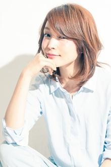 MINX発 oggi VERY 松島花風楽ちんミディアム|MINX 銀座二丁目店のヘアスタイル