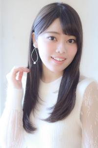 大人可愛いツヤ髪ワンカールストレート☆