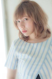 外国人風イルミナヌーディセミディ☆|MINX 銀座二丁目店のヘアスタイル