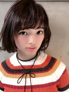 大人可愛いミディアムボブ×ツヤツヤワンカール☆|MINX 銀座二丁目店のヘアスタイル