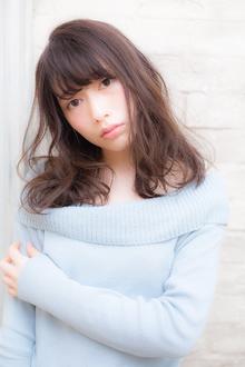 小顔に見せる前髪☆大人フェミニティー☆ MINX 銀座二丁目店のヘアスタイル