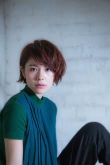 今宿麻美風 30代大人女子向けカジュアルショート!|MINX 銀座二丁目店のヘアスタイル