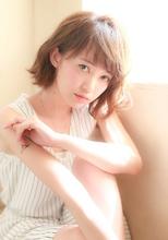小顔に見せる前髪☆大人フェミニティーボブ|MINX 銀座二丁目店 徳永 利彦のヘアスタイル