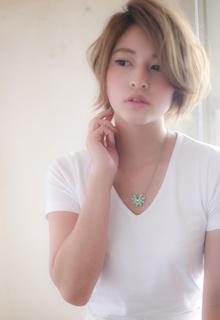 大人ヘルシーショートヘア☆|MINX 銀座二丁目店のヘアスタイル