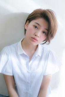 大人ショート 小顔にみせるナチュラルヘア☆|MINX 銀座二丁目店のヘアスタイル