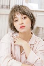 毛先シャギーとカラーリングで魅せるGirl'sマッシュショート|MINX 銀座二丁目店 加茂 愛仁のヘアスタイル