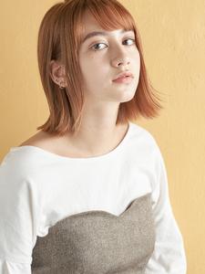 抜け感外ハネボブ|MINX 銀座二丁目店のヘアスタイル