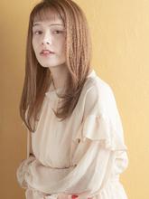 おしゃれカジュアルストレート|MINX 銀座二丁目店のヘアスタイル
