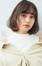 ピュアシースルーボブ|MINX 銀座二丁目店 桜井 智美のヘアスタイル