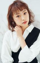 美シルエットミディ|MINX 銀座二丁目店のヘアスタイル