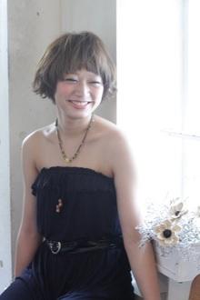 女の子らしいゆるふわパーマでオシャレ度アップ|MINX 銀座二丁目店のヘアスタイル