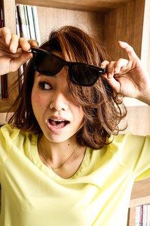 弾むようなカールでラフにハッピーに★|MINX 銀座二丁目店のヘアスタイル