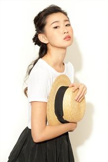 海外セレブ・人気ブロガー風 Bigリボン♪ハーフアップ|MINX 銀座五丁目店のヘアスタイル