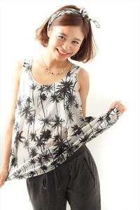 【MINX】スカーフ×ボブ 小泉里子さん風夏のヘアアレンジ