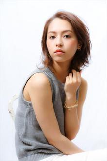 【MINX】30代 夏のクールな大人女性ボブ|MINX 銀座五丁目店のヘアスタイル