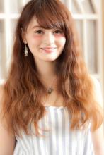 柔らかシースルーウエーブ!|MINX 銀座五丁目店 佐藤 和徳のヘアスタイル