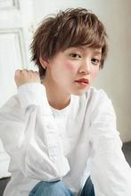 波留さん風 さわやかショート|MINX 銀座五丁目店 飯野 誠のヘアスタイル
