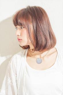 広瀬すず風 シンプルボブ|MINX 銀座五丁目店のヘアスタイル