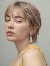 マッシュウルフショート|MINX 銀座五丁目店 花渕 慶太のヘアスタイル
