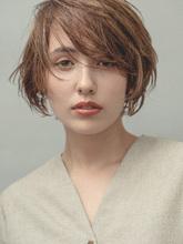 大人キレイなニュアンスショート|MINX 銀座五丁目店のヘアスタイル