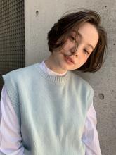 重軽ショートボブ|MINX 銀座五丁目店のヘアスタイル
