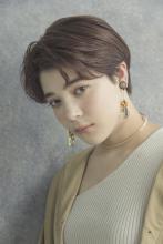 アンニュイショート|MINX 銀座五丁目店のヘアスタイル
