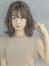 外ハネくびれミディ|MINX 銀座五丁目店 佐々木 隆成のヘアスタイル