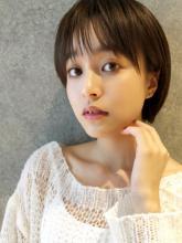 クールショート オフィスカジュアル|MINX 銀座五丁目店 知念 弘行のヘアスタイル