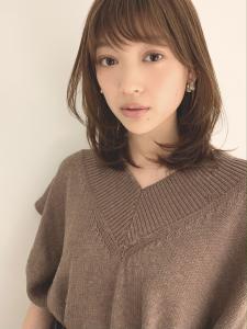 王道ひし形ミディ MINX 銀座五丁目店のヘアスタイル