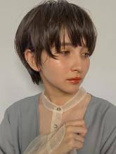 小慣れ耳掛けマッシュショート MINX 銀座五丁目店 和田 かな子のヘアスタイル