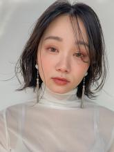 伸ばしかけのくびれボブ MINX 銀座五丁目店 和田 かな子のヘアスタイル