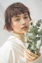 イメチェン短め前髪 flutter short|MINX 銀座五丁目店のヘアスタイル