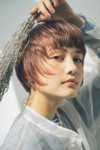 レイヤリングショート|MINX 銀座五丁目店 佐々木 隆成のヘアスタイル
