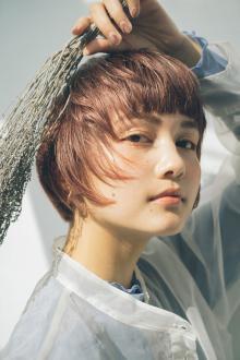 レイヤリングショート|MINX 銀座五丁目店のヘアスタイル