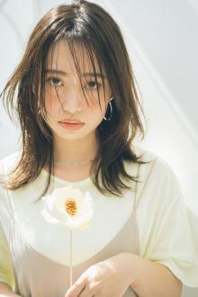 韓国風エギョモリヘア|MINX 銀座五丁目店のヘアスタイル