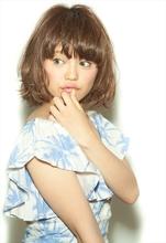 【MINX】イビサボブ 山本彩風|MINX 原宿店 山口 照洋のヘアスタイル