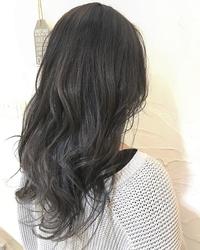 暗髪ハイ透明度カラー