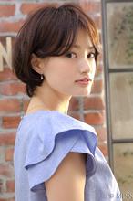 美人シルエットのスッキリショートボブ|MINX 原宿店 河野 沙耶佳のヘアスタイル
