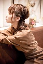 抜け感が可愛い!人気のネイティブハーフアップ|MINX 原宿店 河野 沙耶佳のヘアスタイル