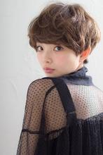 ガーリーショート|MINX 原宿店 藤田 昂補のヘアスタイル