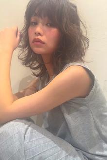 絶対はずさない2017夏髪トレンドルーズウェーブ|MINX 原宿店のヘアスタイル