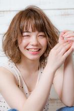 【MINX】人気のワイドバング×ナチュラルボブ MINX 原宿店 須永 健次のヘアスタイル