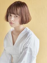 大人かわいい小顔ミニマムボブ|MINX 原宿店のヘアスタイル