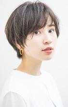 ナチュラルショート|MINX 原宿店のヘアスタイル