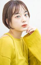 小顔ショート|MINX 原宿店のヘアスタイル